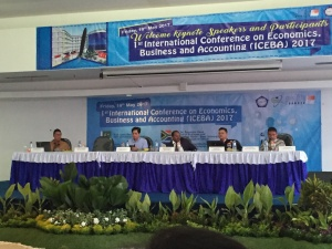International Conference on Economics Bussines and Accounting - Universitas Pelita Bangsa CIkarang